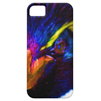 Pingüino de Rockhopper del arco iris iPhone 5 Case-Mate Protectores