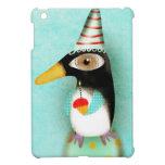 Pingüino de Rupydetequila del feliz cumpleaños iPad Mini Cobertura