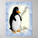 Pingüino de South Pole Impresiones