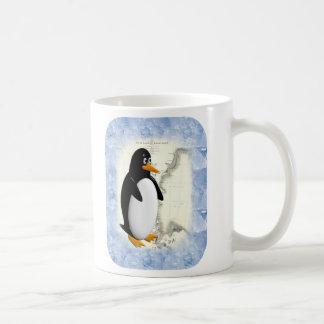 Pingüino de South Pole Taza