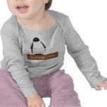 Pingüino de Spanglish (Pinguino) Camisetas