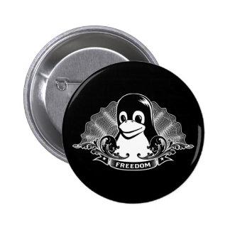 Pingüino de Tux - Linux Open Source Copyleft F