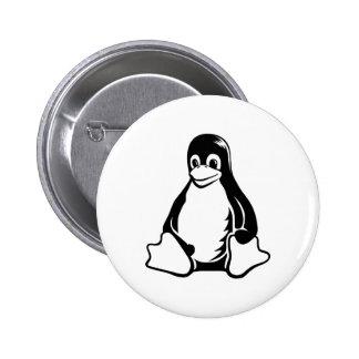 Pingüino de Tux - (Linux, Open Source, Copyleft, F Pin