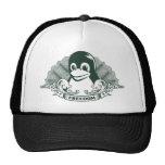 Pingüino de Tux - (Linux, Open Source, Copyleft, F Gorras