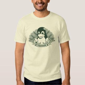 Pingüino de Tux - (Linux, Open Source, Copyleft, F Playera