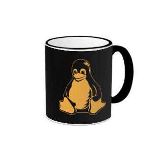 Pingüino de Tux - (Linux, Open Source, Copyleft, F Taza De Café