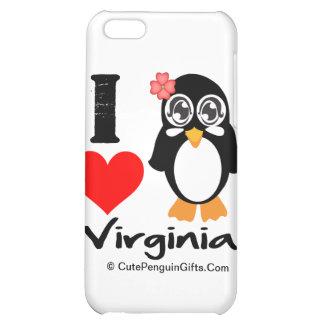 Pingüino de Virginia - amor Virginia de I
