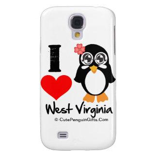 Pingüino de Virginia Occidental - amor Virginia Oc
