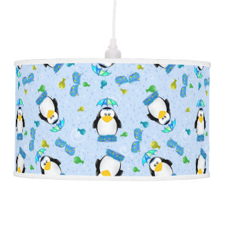 Pingüino de Wellies de la lluvia
