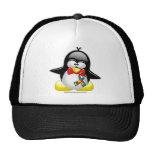 Pingüino del autismo gorra