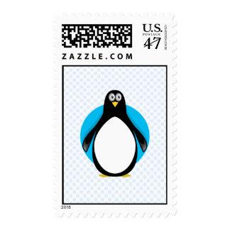 Pingüino del bajá estampillas