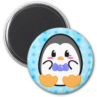 Pingüino del bebé - imán del muchacho
