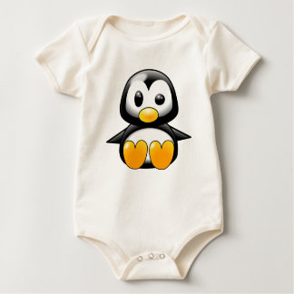 Pingüino del bebé mameluco
