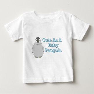 Pingüino del bebé playeras