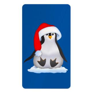 Pingüino del bebé tarjeta de visita