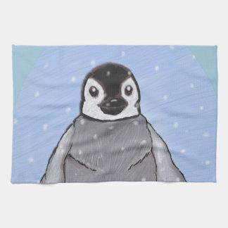 Pingüino del bebé toallas de cocina