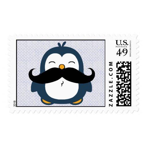 Pingüino del bigote sello