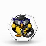 Pingüino del ciclista