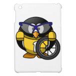 Pingüino del ciclista iPad mini fundas