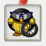 Pingüino del ciclista ornato