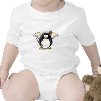 Pingüino del Cupid Traje De Bebé