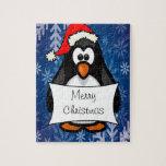 Pingüino del día de fiesta puzzles