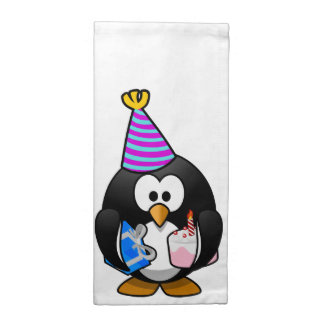Pingüino del fiesta servilletas
