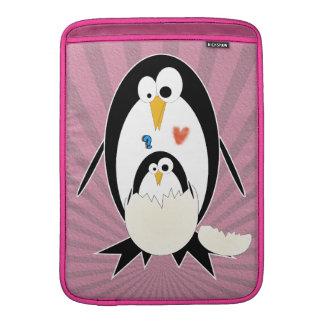 Pingüino del Hatchling aire de Macbook del carrito Fundas Macbook Air