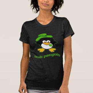 Pingüino del irlandés del bebé t shirts