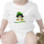 Pingüino del irlandés del bebé trajes de bebé