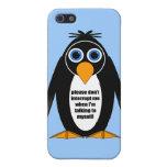 pingüino del itude iPhone 5 coberturas