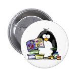 Pingüino del libro de recuerdos pins