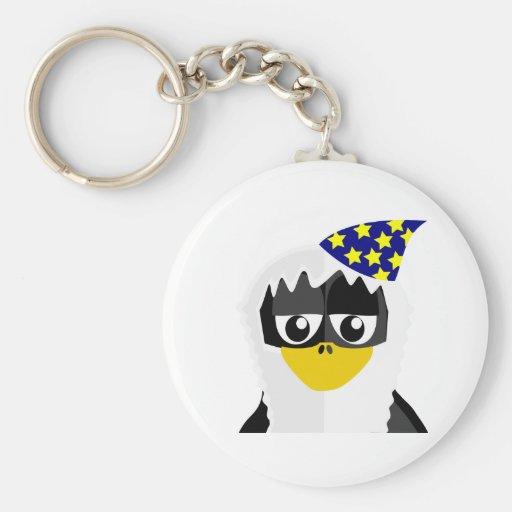 Pingüino del mago llavero