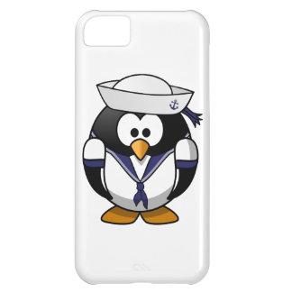 Pingüino del marinero funda para iPhone 5C