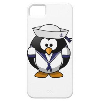 Pingüino del marinero iPhone 5 carcasas