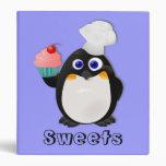 Pingüino del panadero con la magdalena II