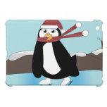 Pingüino del patinaje de hielo iPad mini carcasas