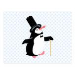 Pingüino del Peridot Postales