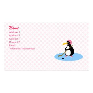 Pingüino del Petra Tarjeta De Visita