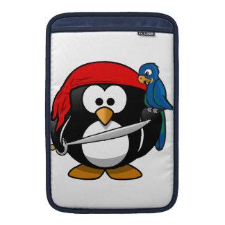 Pingüino del pirata funda para macbook air