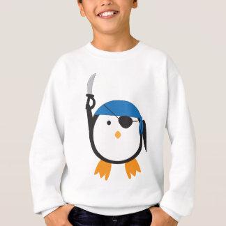 Pingüino del pirata sudadera