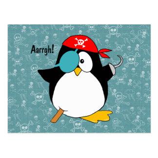 Pingüino del pirata postal