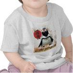 pingüino del sushi camisetas