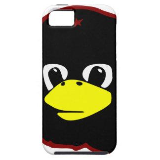 pingüino del tux del linux del guevara del che iPhone 5 carcasa