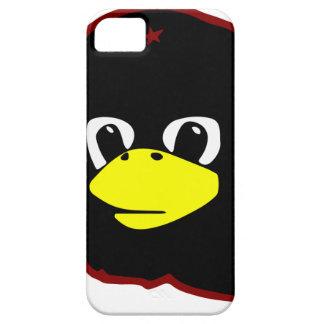 pingüino del tux del linux del guevara del che iPhone 5 carcasas