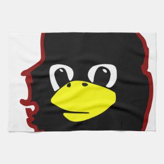pingüino del tux del linux del guevara del che toalla