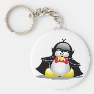 Pingüino del vampiro llaveros