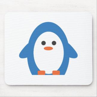 Pingüino del vendedor ambulante alfombrillas de ratones