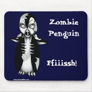 Pingüino del zombi: ¡Ffiiissh! Alfombrilla De Ratones