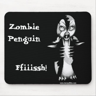 Pingüino del zombi: ¡Ffiiissh! Tapete De Raton